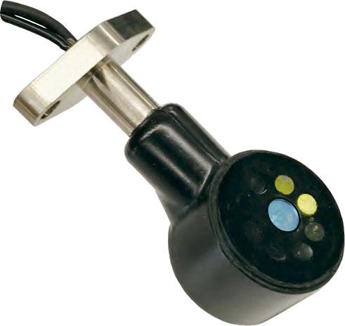 Sensor de clorofila por fluorescência e turbidez para integração