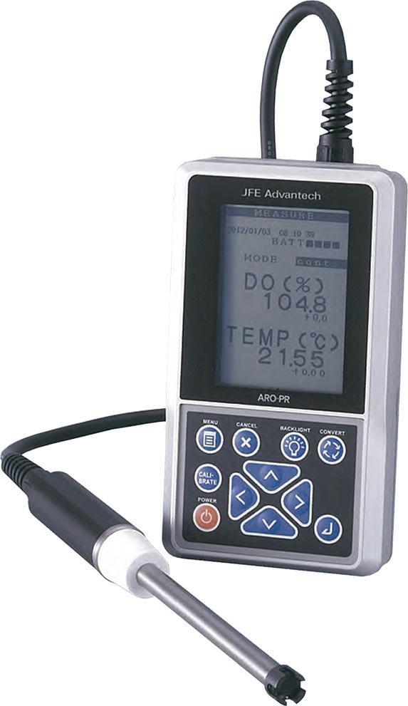 Medidor de OD óptico portátil
